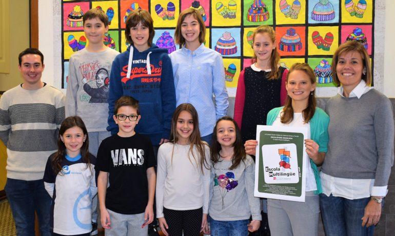L'escola obté la Certificació d'Escola Multilingüe