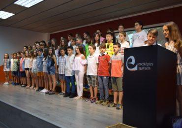 Celebració del comiat de l'alumnat de 6è de Primària