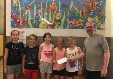 Els alumnes de 5è destinen una part dels seus beneficis a l'Associació Catalana d'Amics del Poble Saharaui