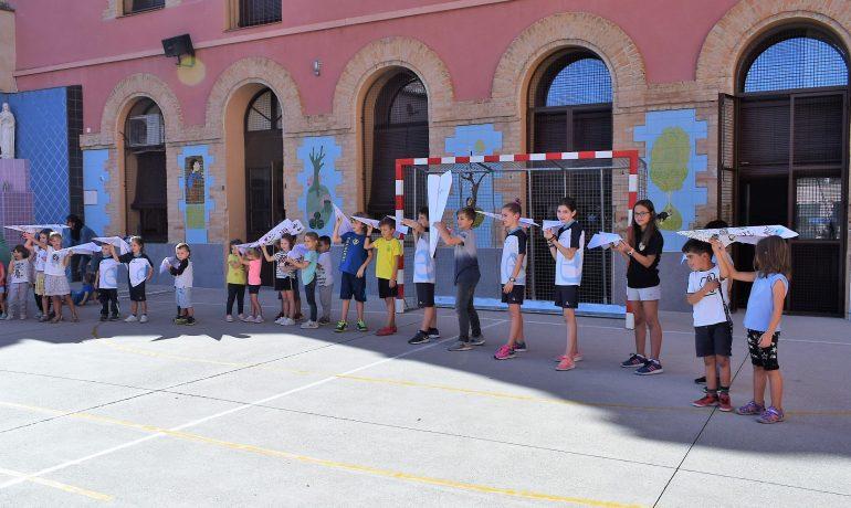 Celebració d'inici de curs: Llança't!